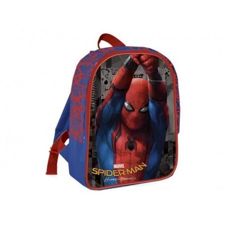 Spider-Man Homecoming - Rugzak 31cm Hoog - Blauw met Rood