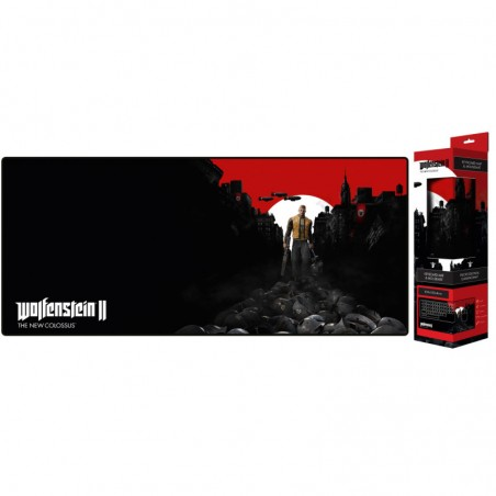 Wolfenstein  Extended Gaming Mousepad  Trail of the Dead  80x35 cm