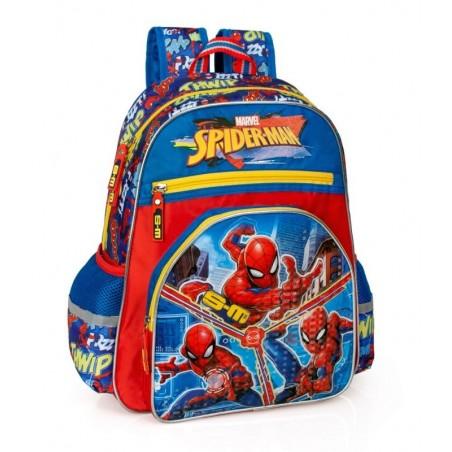 Spiderman - Rugzak 39 cm hoog - Blauw en Rood
