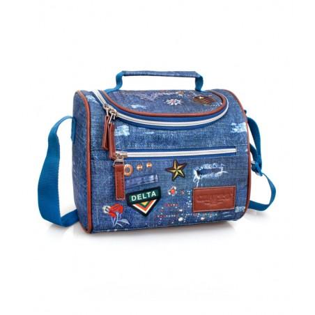 El Charro - Lunchtas - Koeltas - Denim - Blauw - 21 cm