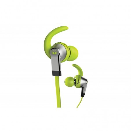 Monster iSport Victory In-Ear Koptelefoon, 3 knoppen ControlTalk Groen
