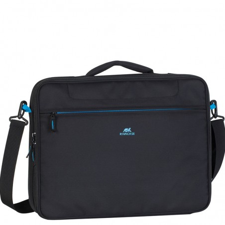 RivaCase 8087 - Laptoptas - Schoudertas - Clamshell - 16 inch- Zwart