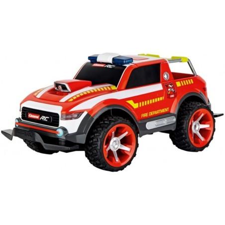 Carrera RC - Fire Fighter Watergun - Afstand bestuurbare brandweer auto - Rood