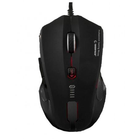 Rampage Gaming Muis SMX-R5 - 4000 DPI - USB - Macro Software