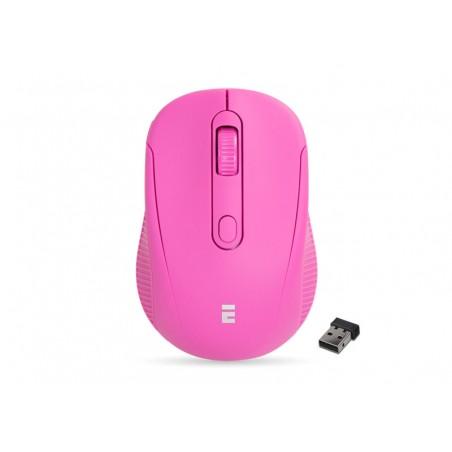 Everest SM-300 USB  fel roze optische draadloze muis