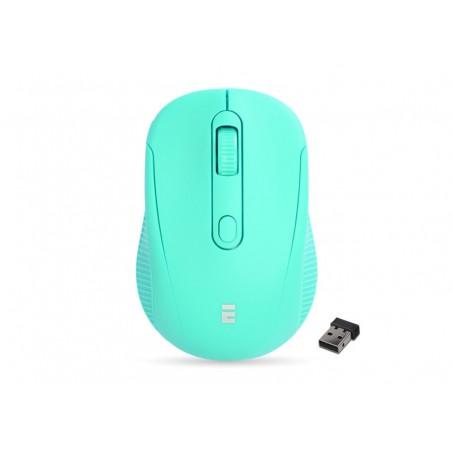 Everest SM-300 USB lichtgroen optische draadloze muis